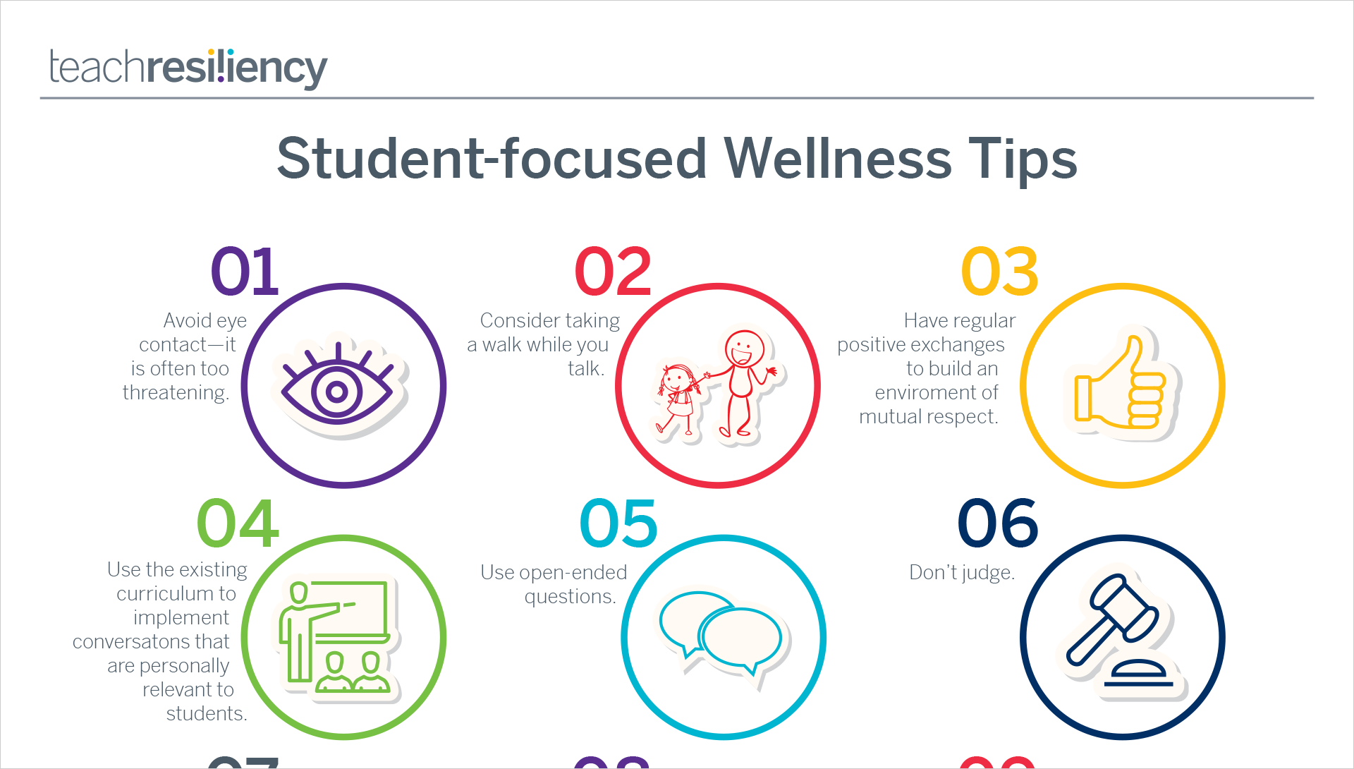 Student wellness tips