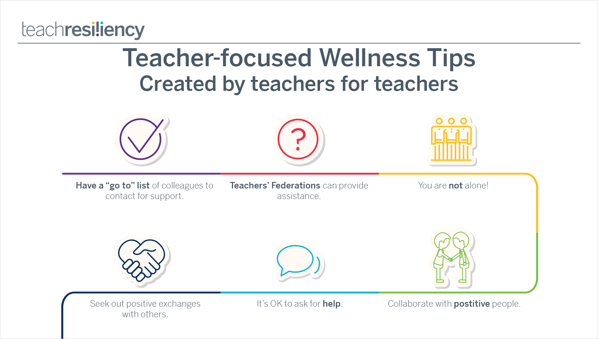 Teacher wellness tips
