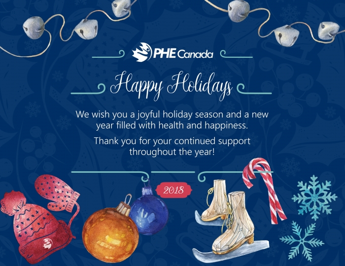 Happy Holidays from PHE Canada!